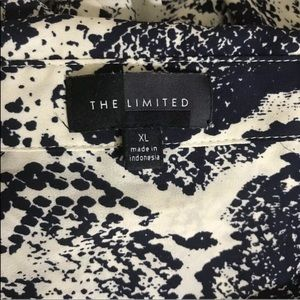 The Limited Tops - 3/$25 The Limited Button-Down Blouse Snake Print